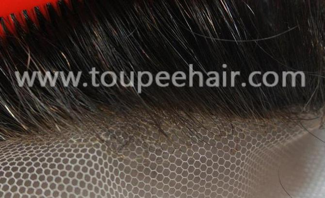 Hair Systems Super Thin Skin With Swiss Lace Front Hair