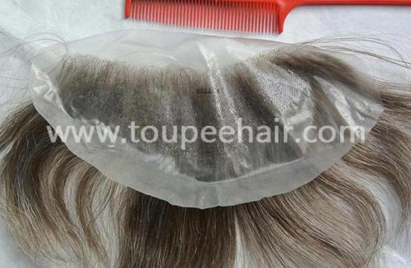 Invisible knots super thin skin Frontal