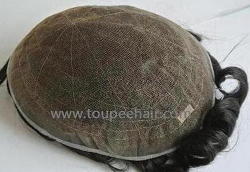 All French lace men's toupee in stock SFF