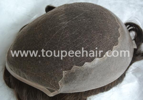 Lace skin stock toupee Q6