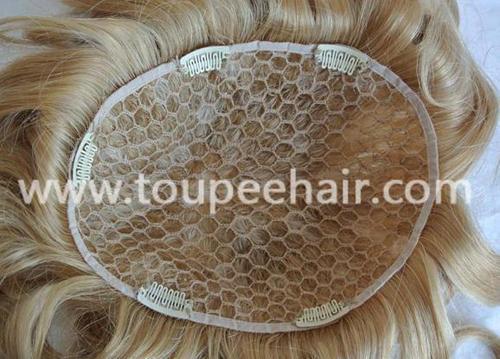 Big hole net women toupee