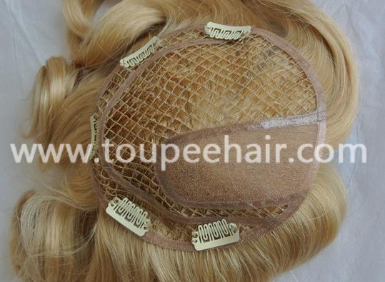 fish net toupee for women