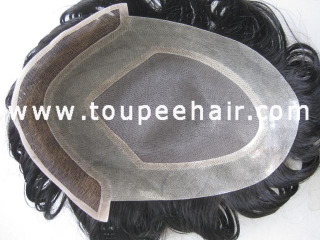 Stock mono lace toupee Ancora